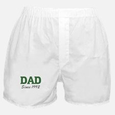 Dad since 1992 (green) Boxer Shorts