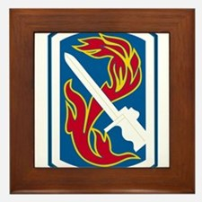 usa_198_inf_bde.png Framed Tile