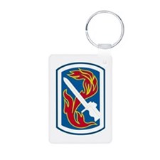 usa_198_inf_bde Keychains