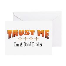 Trust Bond Broker Greeting Cards (Pk of 10)