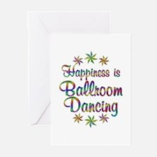 Happiness is Ballroom Greeting Cards (Pk of 10)