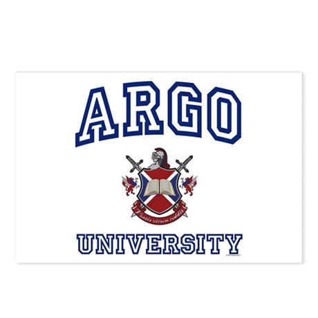ARGO University Postcards (Package of 8)