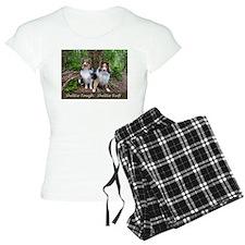Sheltie Tough Sheltie Ruff pajamas