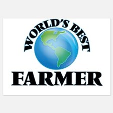 World's Best Farmer Invitations