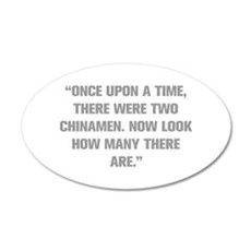 ONCE UPON A TIME THERE WERE TWO CHINAMEN NOW LOOK