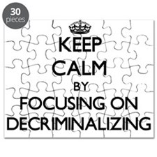 Keep Calm by focusing on Decriminalizing Puzzle