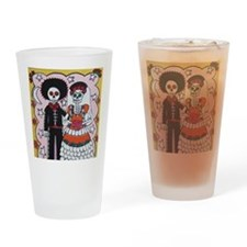 Unique Day of dead Drinking Glass