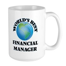World's Best Financial Manager Mugs