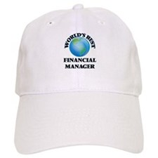 World's Best Financial Manager Baseball Cap