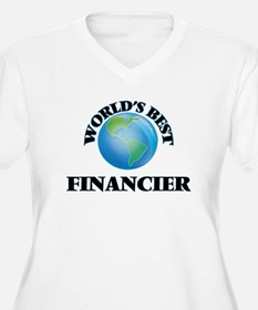 World's Best Financier Plus Size T-Shirt