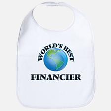 World's Best Financier Bib
