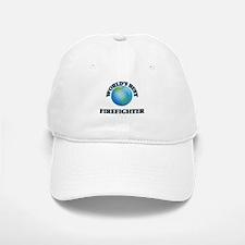 World's Best Firefighter Baseball Baseball Cap
