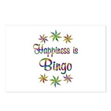 Happiness is Bingo Postcards (Package of 8)