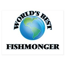 World's Best Fishmonger Invitations