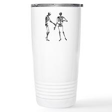 Laughing Skeletons Travel Mug