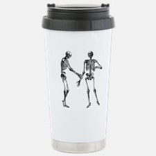 Laughing Skeletons Travel Mug