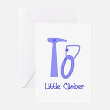 Little Climber Greeting Cards