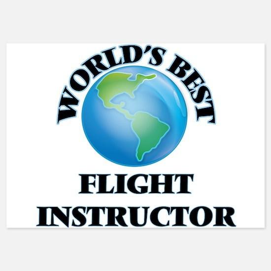 World's Best Flight Instructor Invitations