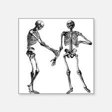 Laughing Skeletons Sticker
