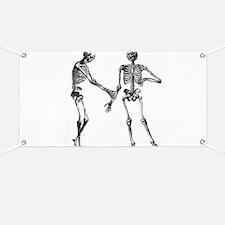 Laughing Skeletons Banner