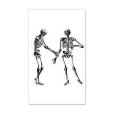 Laughing Skeletons Wall Decal
