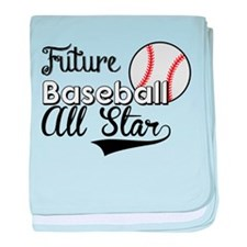 Future Baseball All Star baby blanket