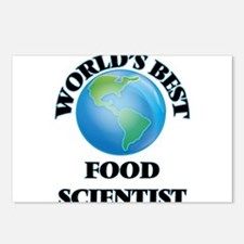 World's Best Food Scienti Postcards (Package of 8)