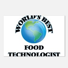World's Best Food Technol Postcards (Package of 8)