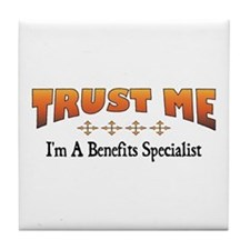 Trust Benefits Specialist Tile Coaster