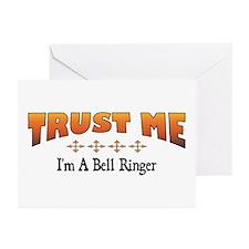 Trust Bell Ringer Greeting Cards (Pk of 10)