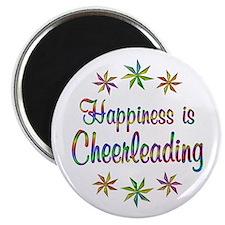 Happiness is Cheerleading Magnet