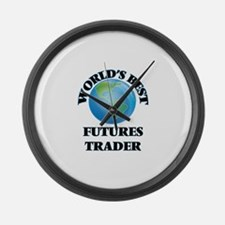 World's Best Futures Trader Large Wall Clock
