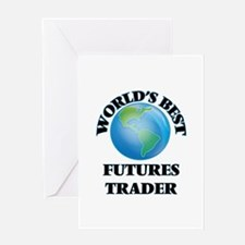 World's Best Futures Trader Greeting Cards