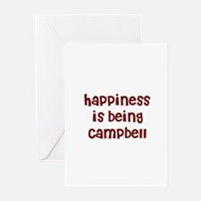 happiness is being Campbell Greeting Cards (Packag