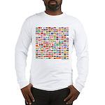 200 Flags - Long Sleeve T-Shirt