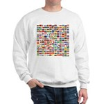 200 Flags - Sweatshirt