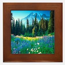 Scenic Mountain Framed Tile
