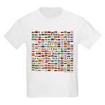 200 Flags - Kids T-Shirt