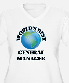 World's Best General Manager Plus Size T-Shirt