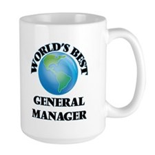 World's Best General Manager Mugs