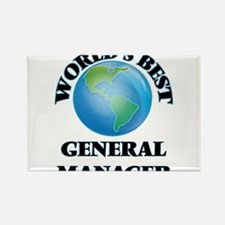 World's Best General Manager Magnets