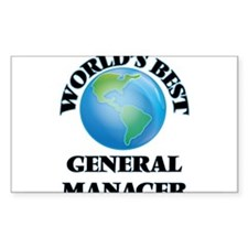 World's Best General Manager Decal