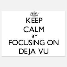 Keep Calm by focusing on Deja Vu Invitations