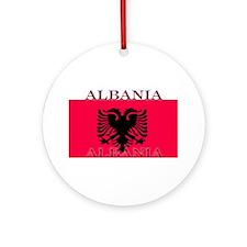 Albania.jpg Ornament (Round)