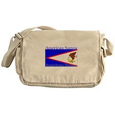Americansamoablack.png Messenger Bag