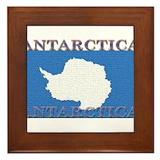 Antarctica.jpg Framed Tile
