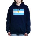 Argentinablank.jpg Women's Hooded Sweatshirt