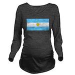 Argentinablank.jpg Long Sleeve Maternity T-Shirt