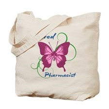 Retired Pharmacist (Butterfly) Tote Bag