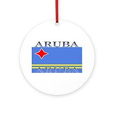 Aruba.jpg Ornament (Round)